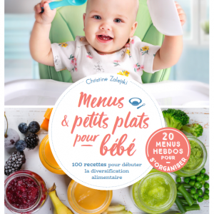 Menus et petits plats pour bébé Christine Zalejski Larousse